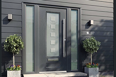 Rock Door composite doors from www.solihullwindows.co.uk include French doors and sliding patio doors