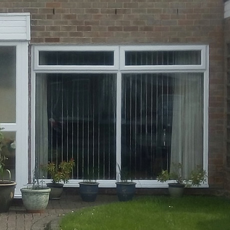 A double glazed, a energy rated large lounge window installed in Hollywood, Birmingham, www.solihullwindows.co.uk