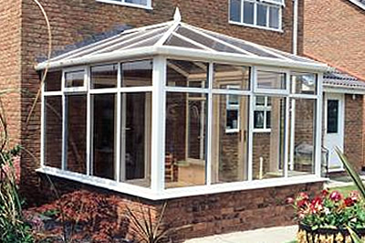 Practical Edwardian (or Geotgian) style conservatories from Solihull WDC