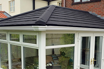 The SupaLite roof, tailor made for each conservatory available from Solihull WDCs